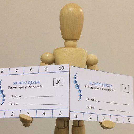 Clínica de fisioterapia y osteopatía: bonos